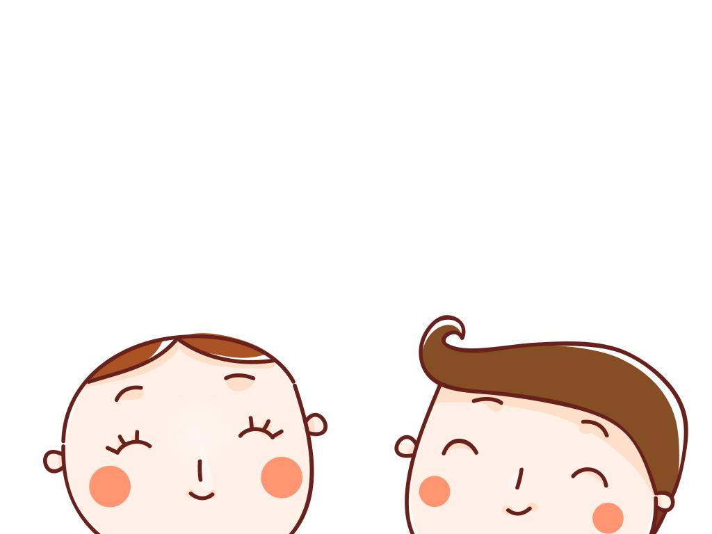 快乐微笑情侣手牵手