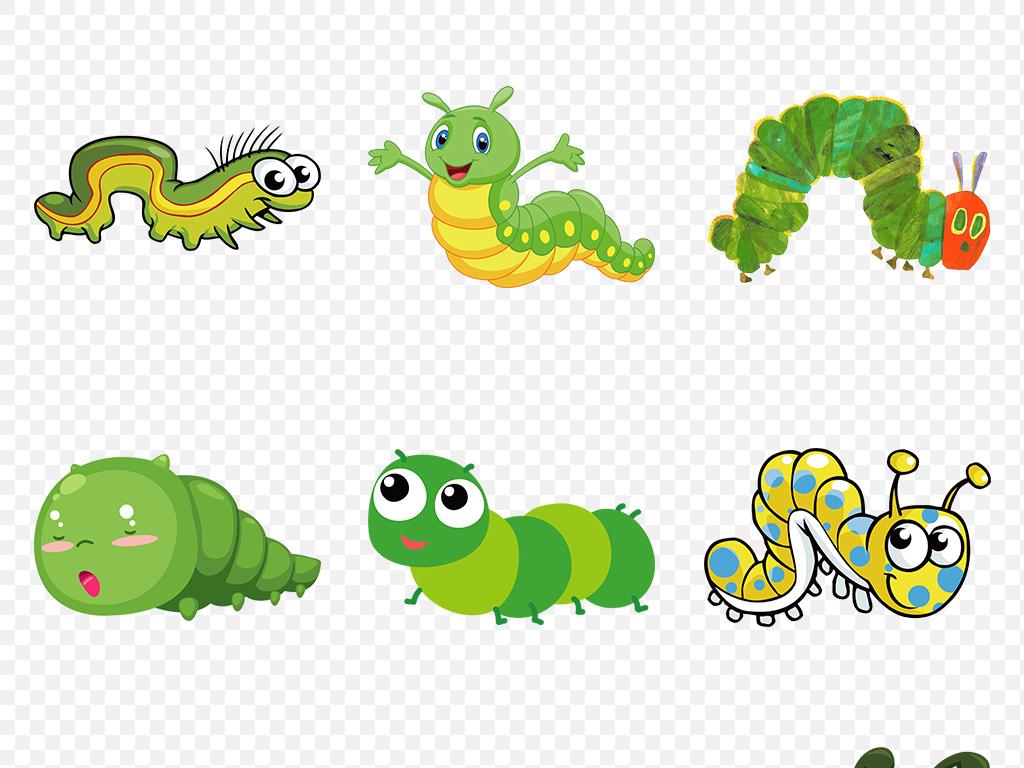 舟形毛虫凤蝶毛虫绿色毛毛虫毛毛虫素材毛毛虫图片手绘毛毛虫毛虫图片