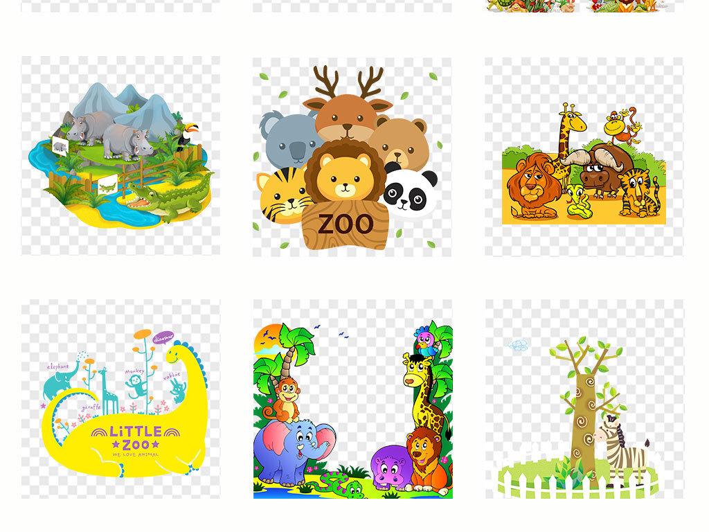 小动物手机壳图案设计儿童画手绘动物水墨黑白壁画壁纸墙纸动物森林
