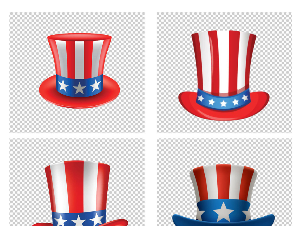卡通手绘儿童魔术帽表演舞台帽子png素材