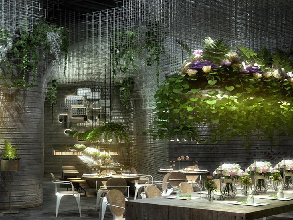 花坊花卉花店3dmax效果图设计图下载(图片454.03mb)图片