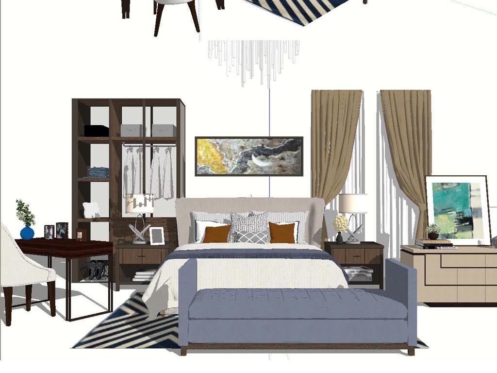 家具软装组合模型设计图下载(图片230.69mb)_其他模型