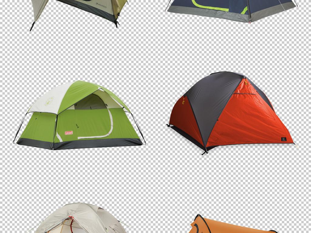 原创卡通手绘野外露营帐篷图片素材png下载