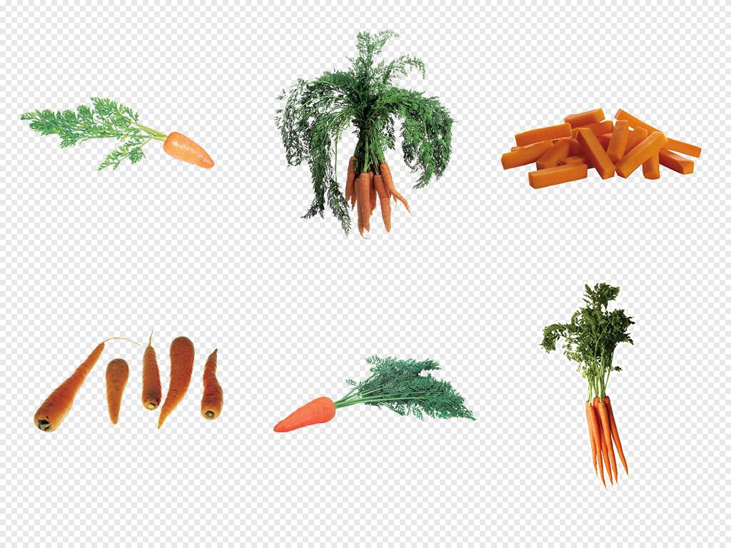 胡萝卜汁矢量胡萝卜萝卜卡通萝卜手绘胡