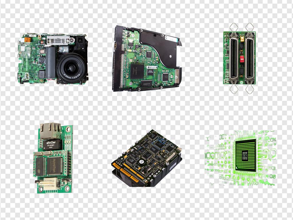 电路维修家电板感线条电路板海报png素材