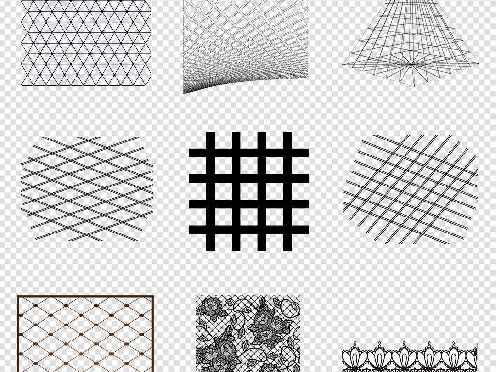 黑色网格格子底纹点线面纹理PNG免抠素材图片 模板下载 46.21MB 底纹大全 花纹边框