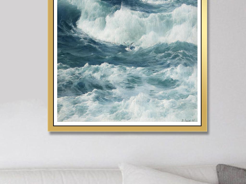大海装饰画