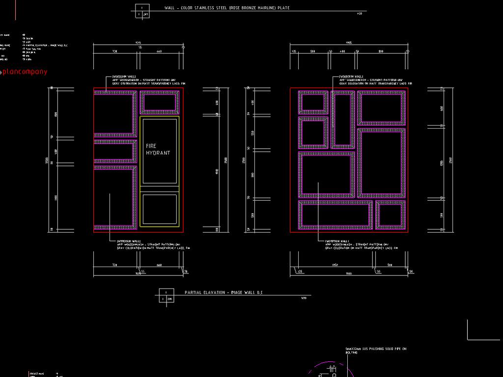 cad服装店施工图平面设计图下载(图片9.23mb)_展厅cad