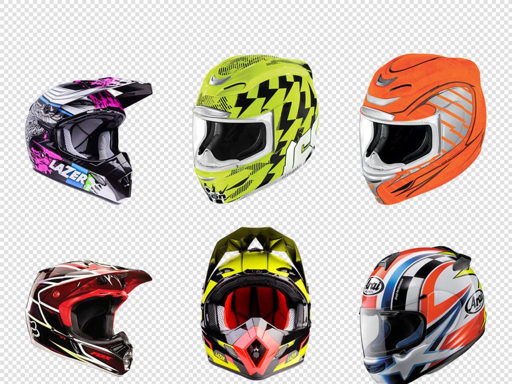 极限运动自行车头盔摩托车海报png素材