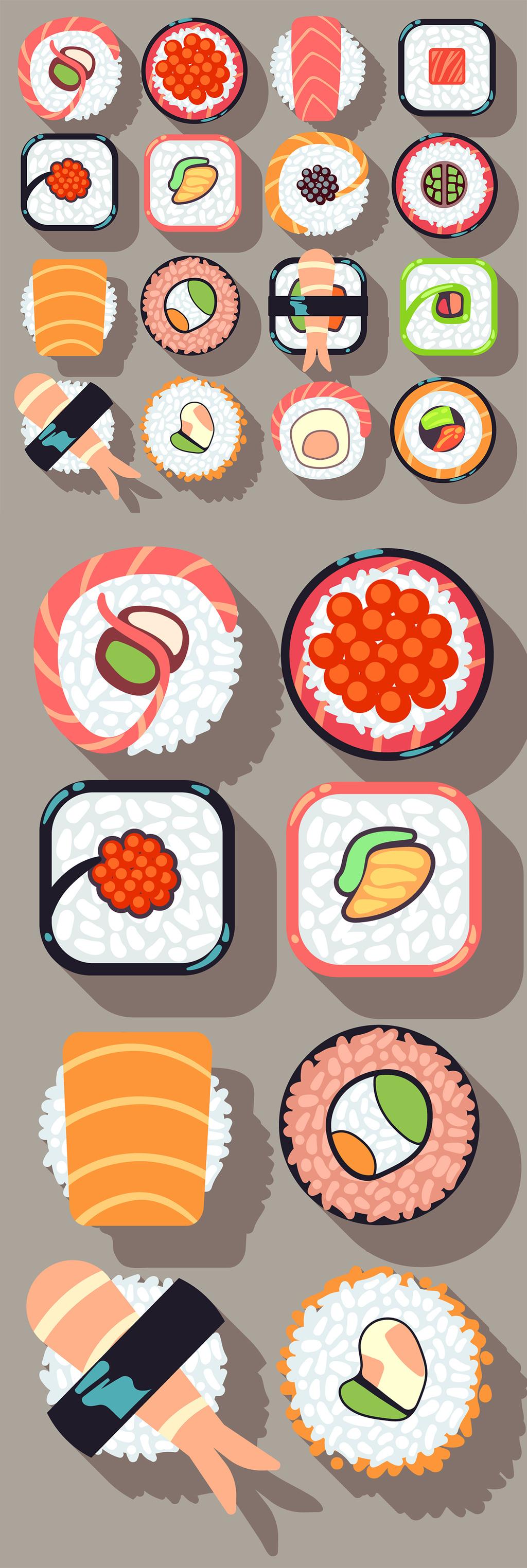 日本食物                                    韩国食物