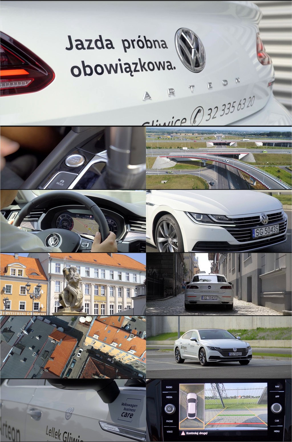 最新大众汽车广告视频素材