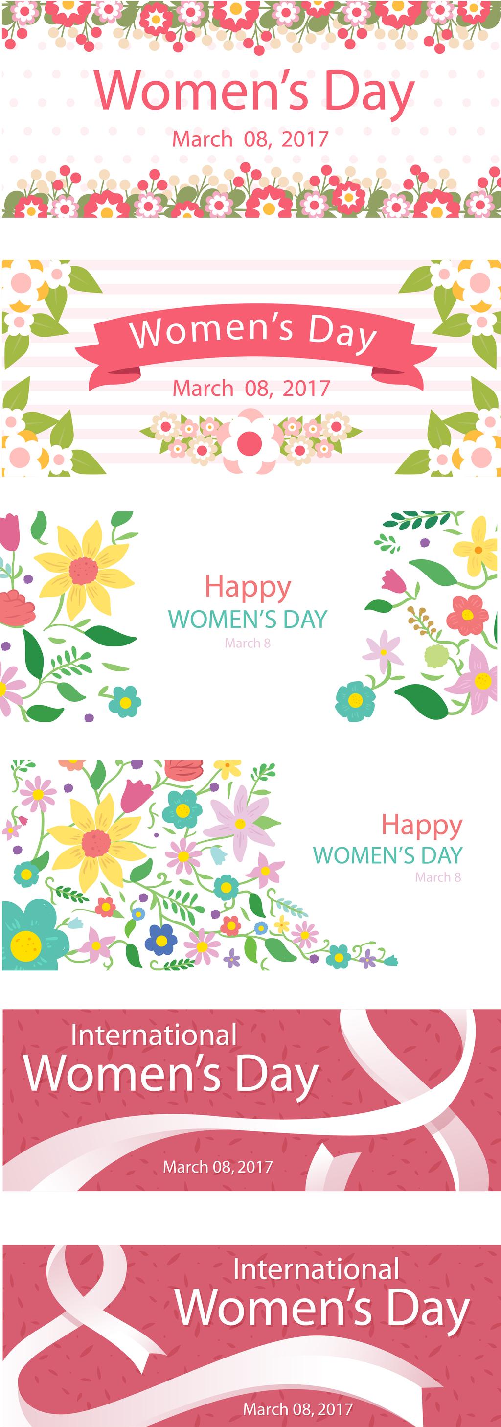 花卉卡片背景手绘素描素材ai矢量图下载