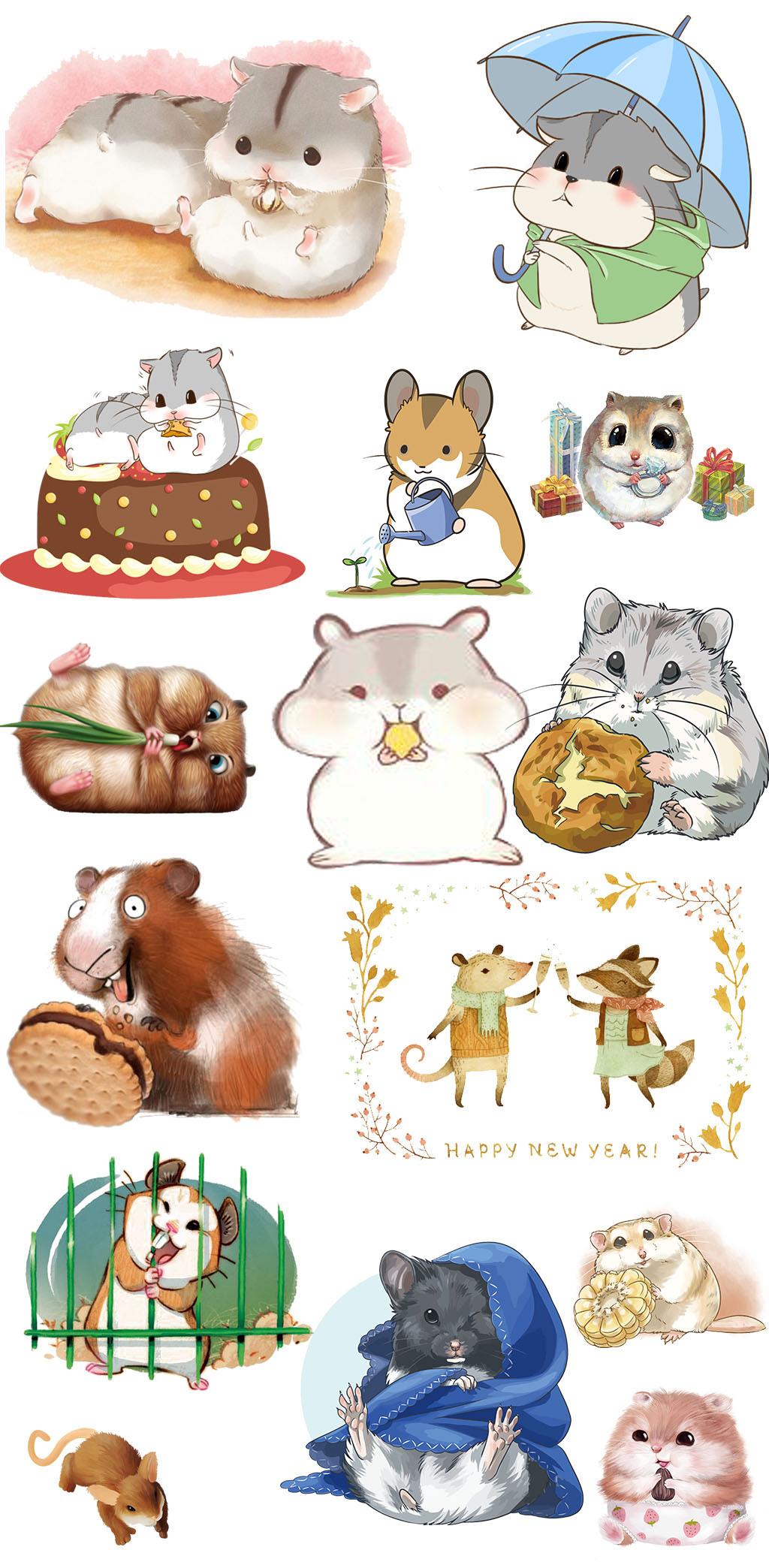 儿童画                                    手绘动物