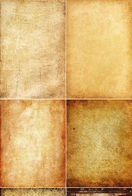 高清复古牛古老皮纸纹理背景图片素材-褶皱纹理图片素材 褶皱纹理图