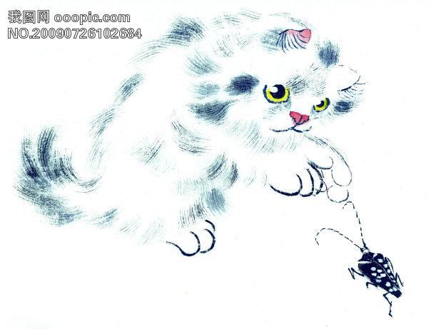 古图 动物 绘画 猫下载_ 古图 动物 绘画 猫图片素材