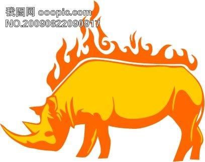 设计元素 背景素材 > 动物与火焰   图片编号:638461 文件格式:eps 颜